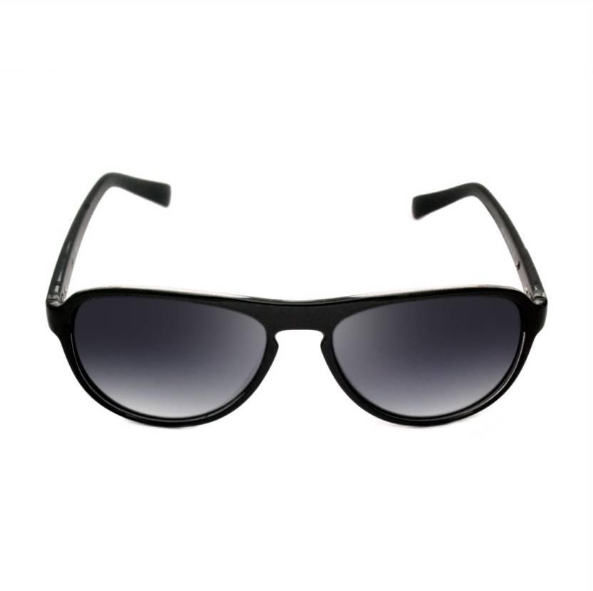 aa17414235 Buy Macv Eyewear Oval Sunglasses Black For Men   Women Online   Best ...
