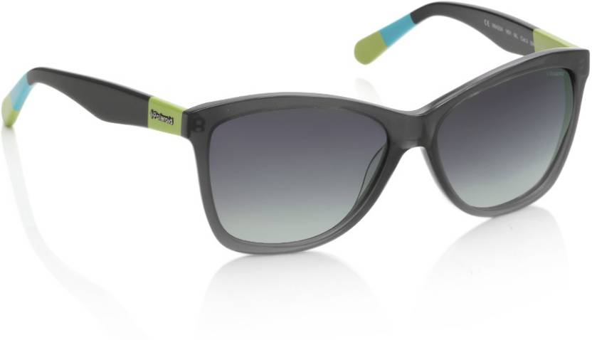 246478a015 Buy Polaroid Wayfarer Sunglasses Grey For Men Online   Best Prices ...