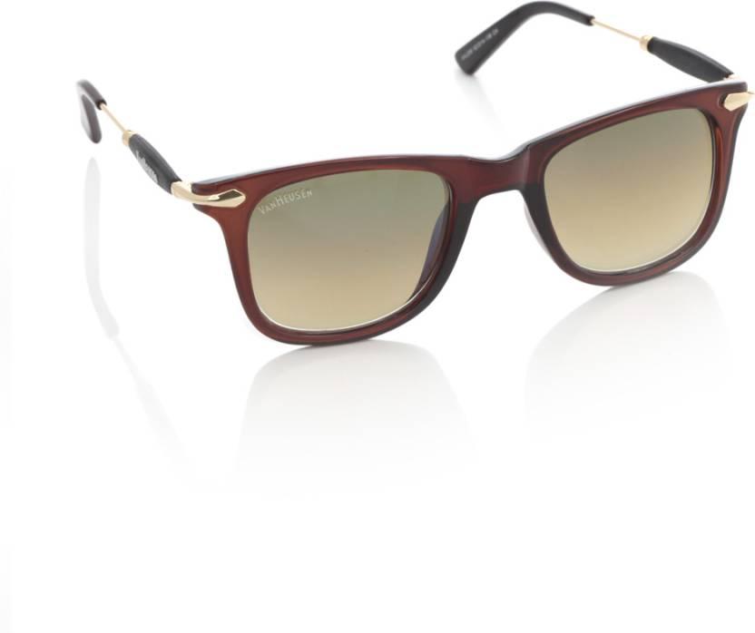 8a4679fa74 Buy Van Heusen Wayfarer Sunglasses Brown For Men   Women Online ...