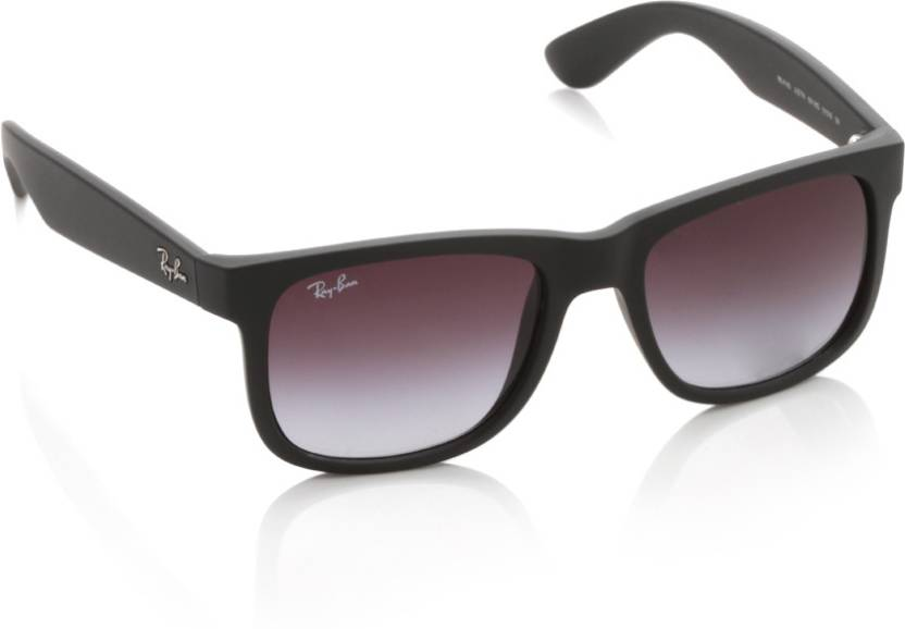 9b425926e3 Buy Ray-Ban Wayfarer Sunglasses Violet For Men Online   Best Prices ...