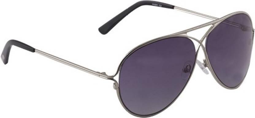 5d05bb594df6 Buy Van Heusen Aviator Sunglasses Black For Men & Women Online ...