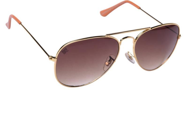 365b774a2f Buy MTV Aviator Sunglasses Yellow For Men   Women Online   Best ...