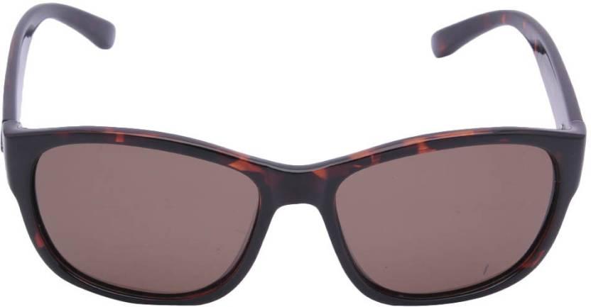 403f25ddc2 Buy Polaroid Wayfarer Sunglasses Brown For Online   Best Prices in ...