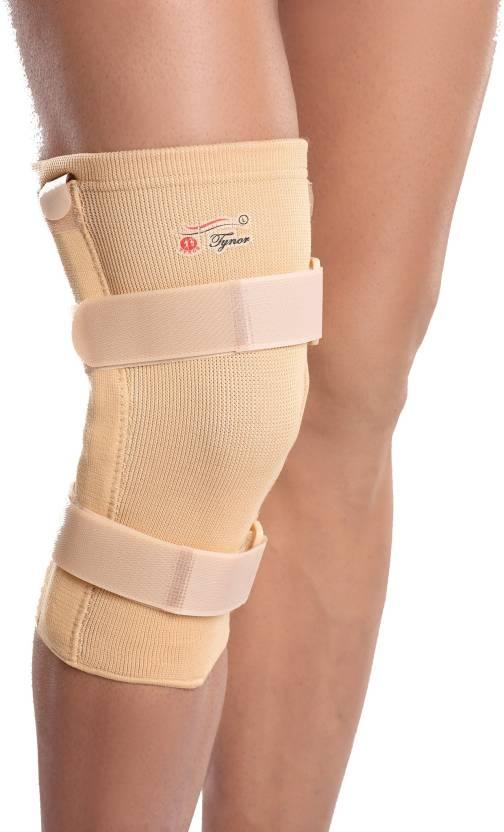 Tynor Knee Cap With Rigid Hinge Foot Support L Grey Buy Tynor