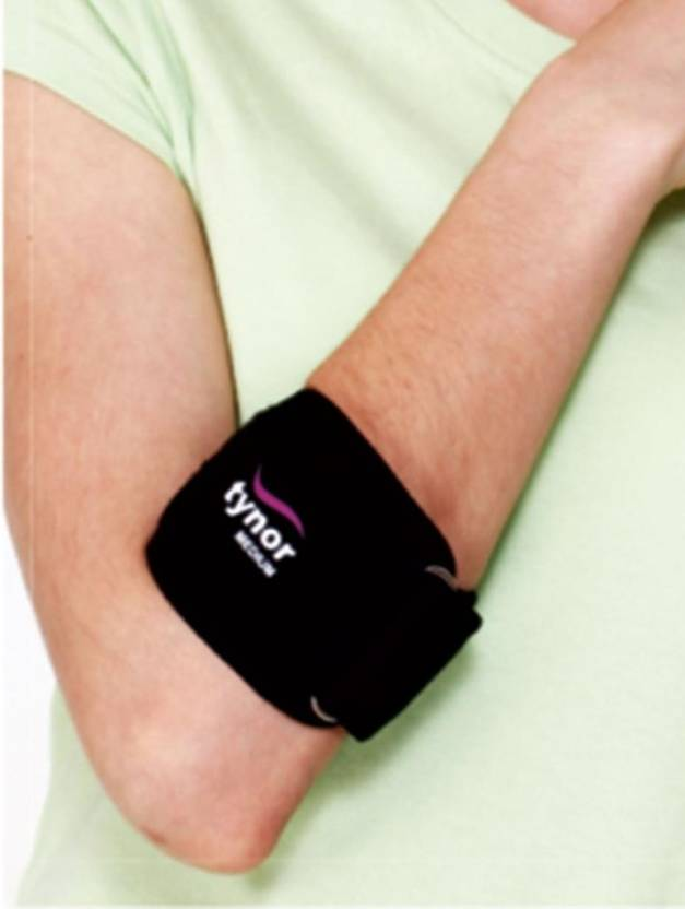 Tynor tennis elbow support Hand Support (M, Black)