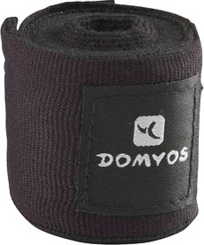 90ad1020555dc Domyos by Decathlon Boxing Wrap Wrist Support (Black) - Buy Domyos by  Decathlon Boxing Wrap Wrist Support (Black) Online at Best Prices in India  - Fitness ...