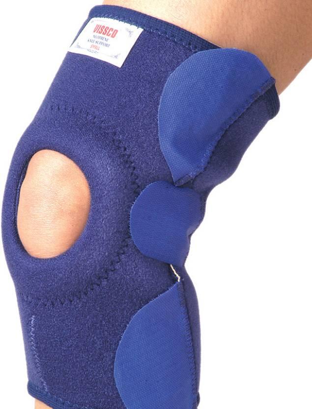 de4d91ddd4 Vissco Neoprene Support with Velcro Knee Support (L, Blue) - Buy Vissco  Neoprene Support with Velcro Knee Support (L, Blue) Online at Best Prices  in India ...