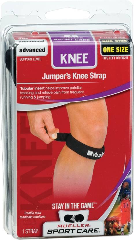 263ceb33ab Mueller Jumper's Knee Strap Knee Support (Free Size, Black) - Buy ...