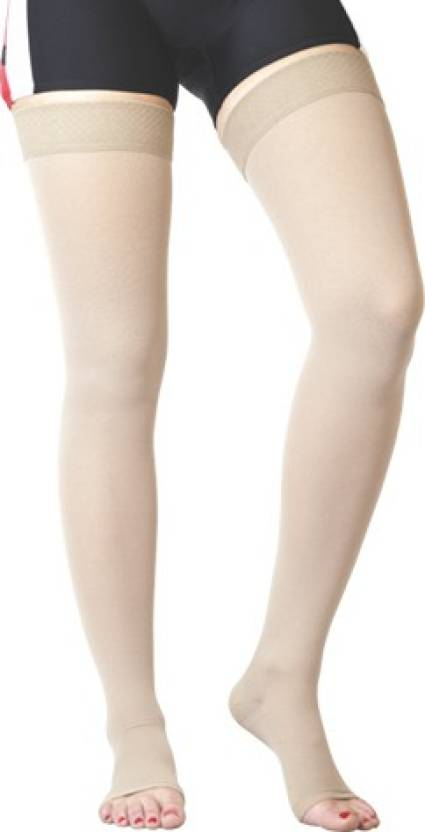 6b5ffc70b0 Flamingo Medical Compression Stockings Above Knee Knee, Calf & Thigh  Support (XL, Beige) - Buy Flamingo Medical Compression Stockings Above Knee  Knee, ...