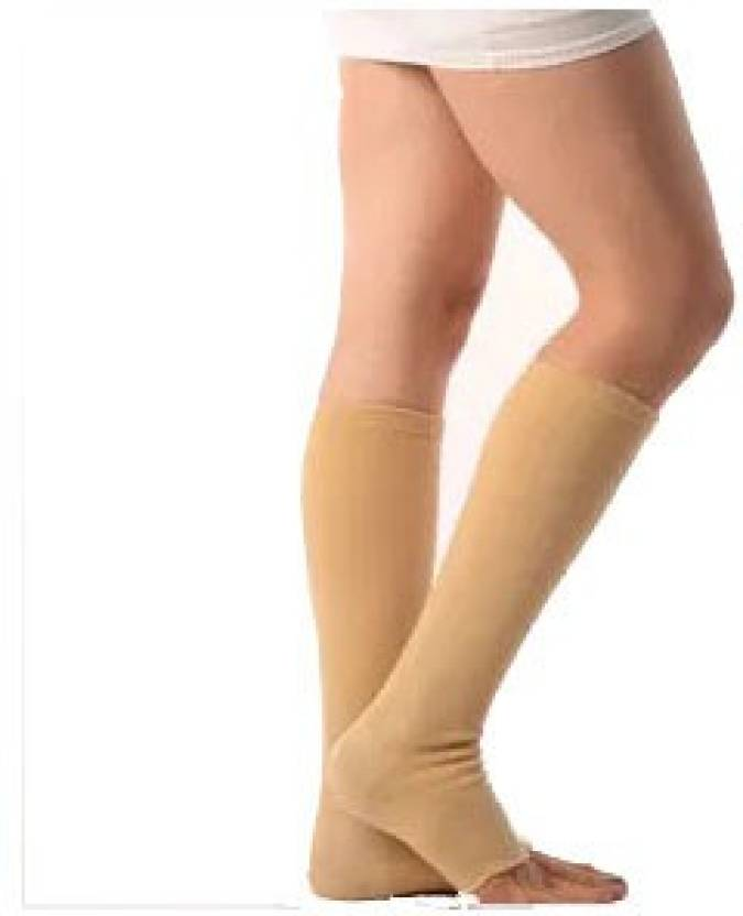 aa820121d9d Vissco Medical Compression Stockings-Below Knee Support (L