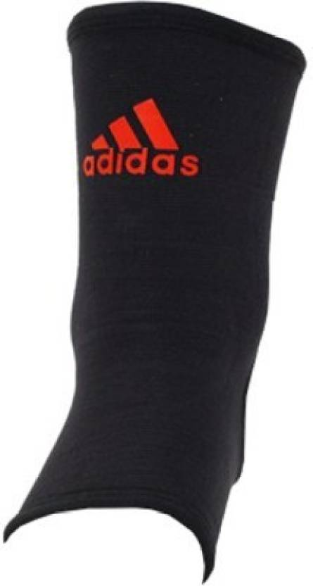 Adidas Ankle Support (L, Black, Red)