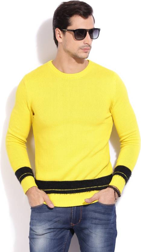 ac10eb77d6cf United Colors of Benetton Casual Men Sweater - Buy 77G United Colors of  Benetton Casual Men Sweater Online at Best Prices in India