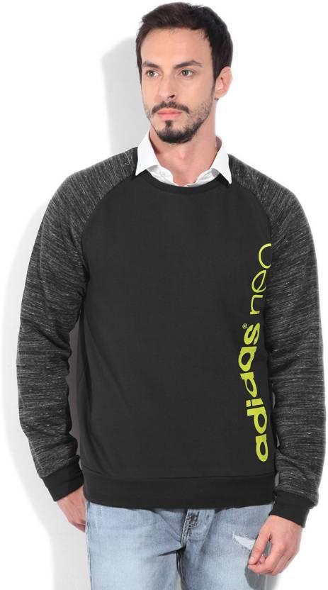 Sudadera hombre con estampado larga de hombre de de manga larga ADIDAS Compre BLACK/ INTLIM 203845b - www.xrm.website