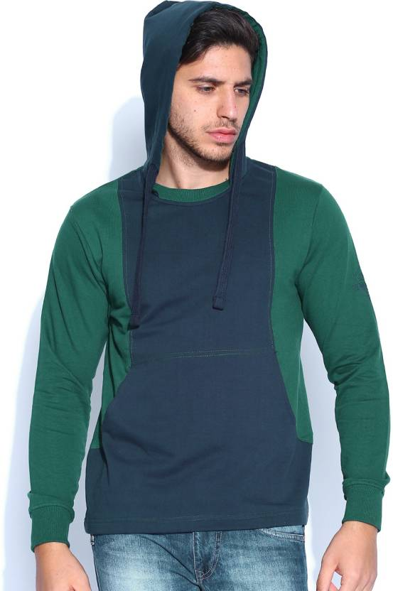 Roadster Full Sleeve Solid Men s Sweatshirt - Buy Blue Roadster Full ... 961fd8d41ab6