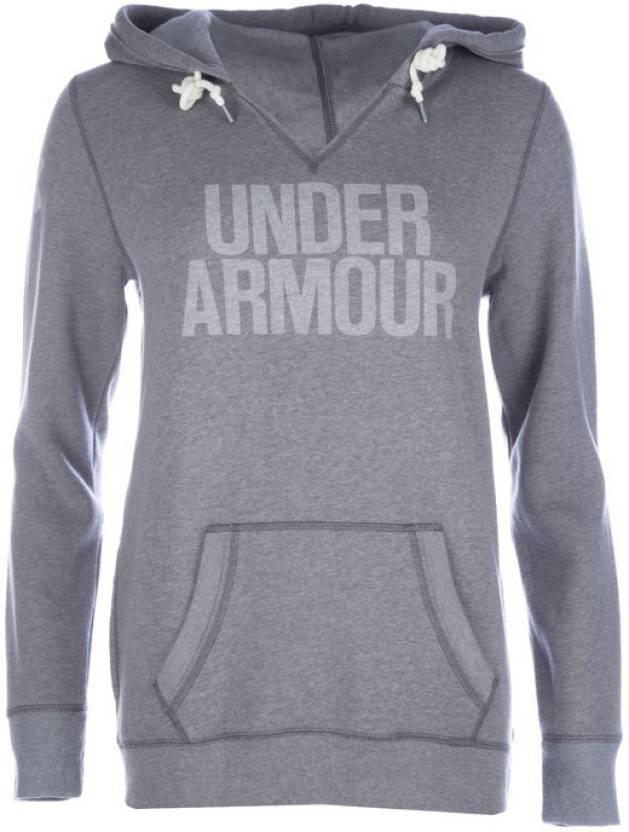 7b207e54c Under Armour Full Sleeve Solid Women's Sweatshirt - Buy Grey Under Armour  Full Sleeve Solid Women's Sweatshirt Online at Best Prices in India    Flipkart.com
