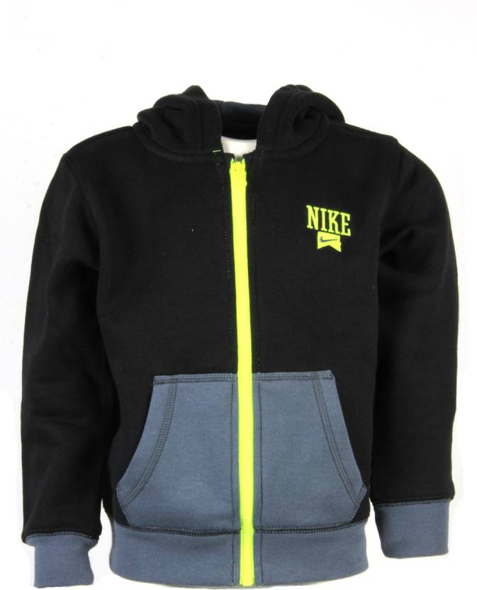 569fda2a2f Nike Kids Full Sleeve Solid Boys Sweatshirt - Buy Black-023 Nike Kids Full  Sleeve Solid Boys Sweatshirt Online at Best Prices in India | Flipkart.com