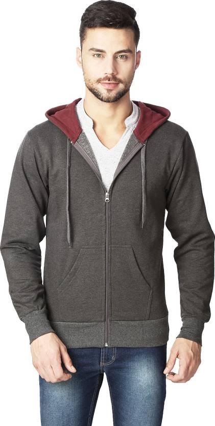 Rodid Full Sleeve Solid Mens Sweatshirt