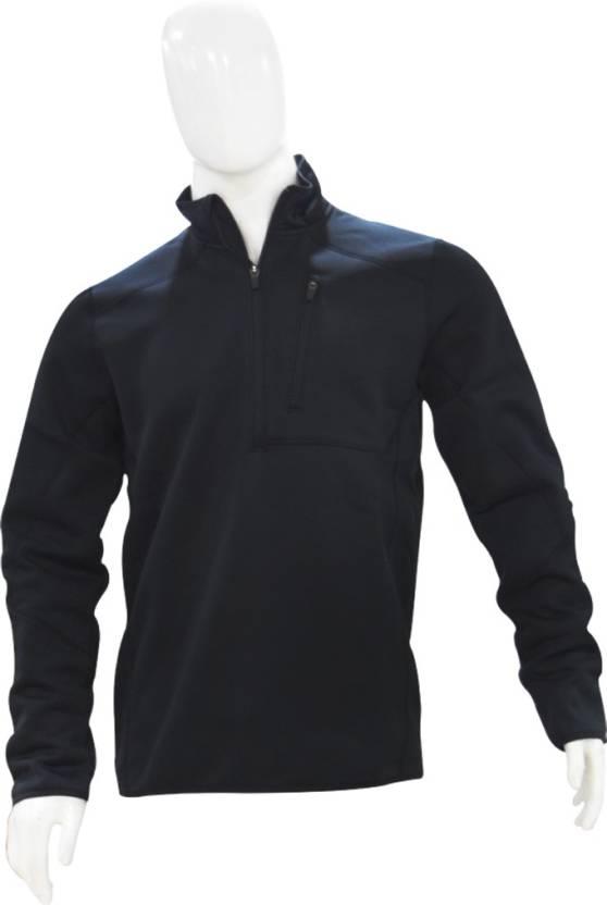 434ffb1ed Under Armour Full Sleeve Solid Men's Sweatshirt - Buy Black Under Armour  Full Sleeve Solid Men's Sweatshirt Online at Best Prices in India    Flipkart.com