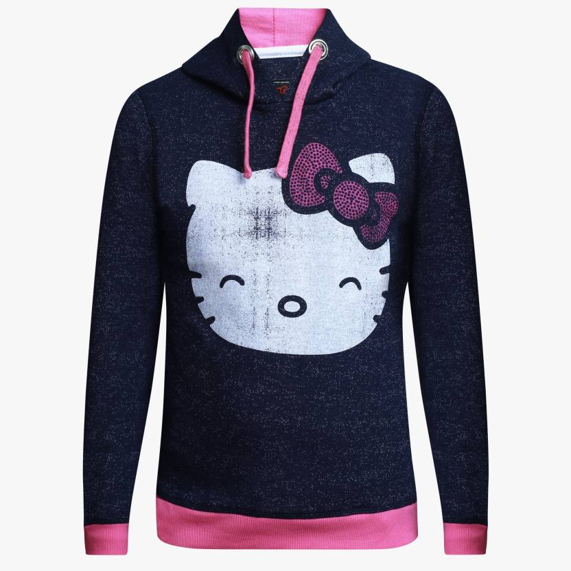 6a2ebb64b Hello Kitty Full Sleeve Printed Girls Sweatshirt - Buy BLUE / SACHET PINK  Hello Kitty Full Sleeve Printed Girls Sweatshirt Online at Best Prices in  India ...