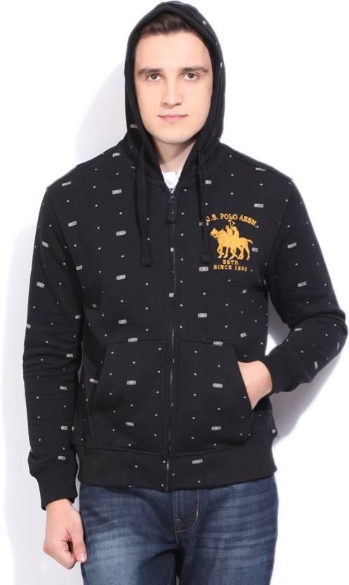 b5e1ae06 U.S. Polo Assn Full Sleeve Men's Sweatshirt - Buy BLACK U.S. Polo Assn Full  Sleeve Men's Sweatshirt Online at Best Prices in India   Flipkart.com