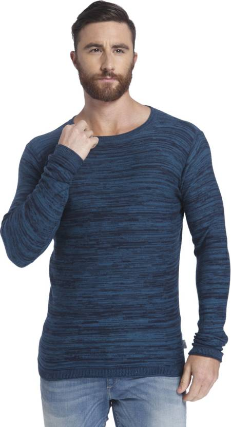 4d2e98a0982a3f Jack   Jones Full Sleeve Solid Men s Sweatshirt - Buy Mallard Blue Jack    Jones Full Sleeve Solid Men s Sweatshirt Online at Best Prices in India ...