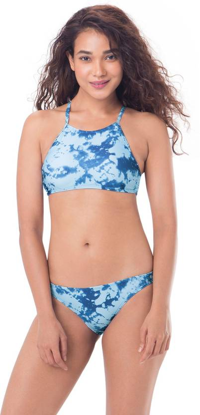 a9add1d7ee PrettySecrets Graphic Print Women's Swimsuit - Buy Blue, Multi Colour / Print  PrettySecrets Graphic Print Women's Swimsuit Online at Best Prices in India  ...