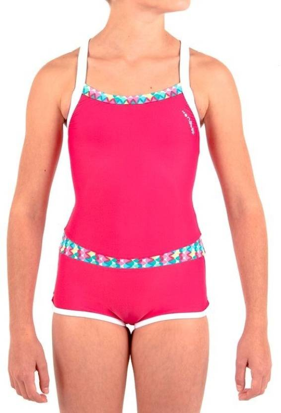 c3c88457e1507 Nabaiji by Decathlon Shorty Allswel Solid Baby Girls Swimsuit - Buy Pink  Nabaiji by Decathlon Shorty Allswel Solid Baby Girls Swimsuit Online at  Best Prices ...