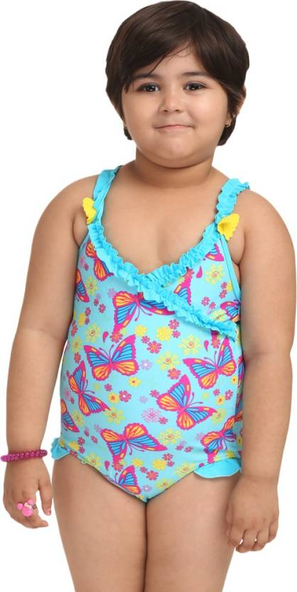 911d263f17bfd Fascinating Fashion Printed Girls Swimsuit - Buy Multi Fascinating Fashion  Printed Girls Swimsuit Online at Best Prices in India | Flipkart.com