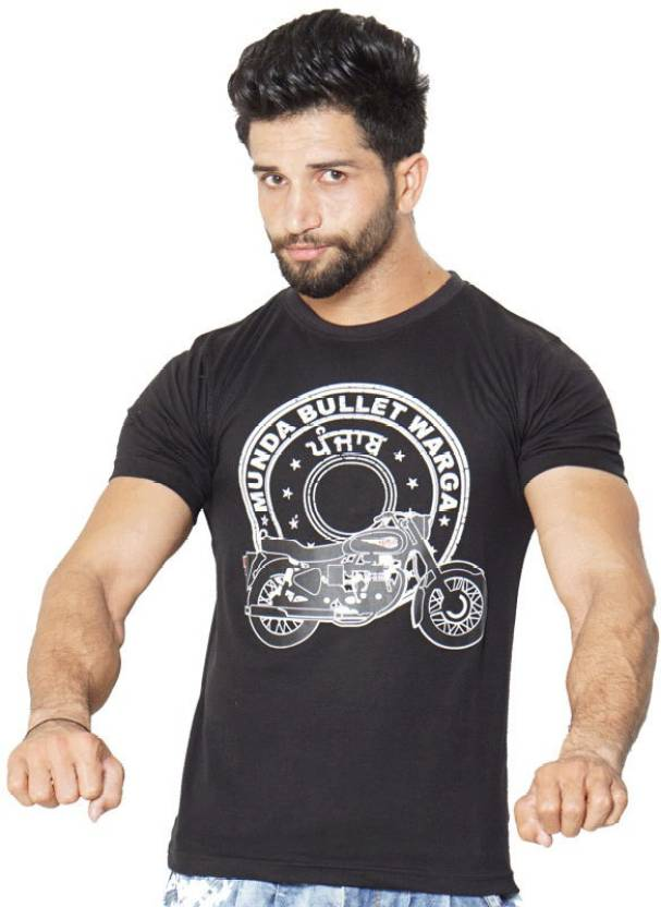 da8c87b8d4 Urban Theka Printed Boys Round Neck Black T-Shirt - Buy Black Urban Theka  Printed Boys Round Neck Black T-Shirt Online at Best Prices in India |  Flipkart. ...