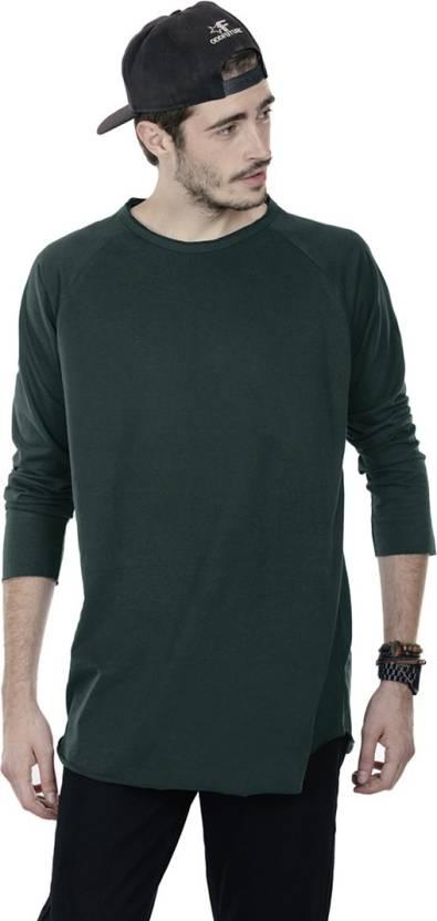 323fc789c41b Bewakoof Solid Men's Round Neck Green T-Shirt - Buy Green Bewakoof Solid  Men's Round Neck Green T-Shirt Online at Best Prices in India | Flipkart.com