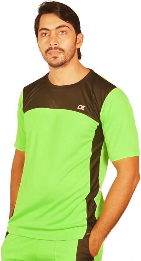 defe35427896 Dyed Colors Solid Men's Round Neck Light Green, Black T-Shirt - Buy Radium  Green Dyed Colors Solid Men's Round Neck Light Green, Black T-Shirt Online  at ...