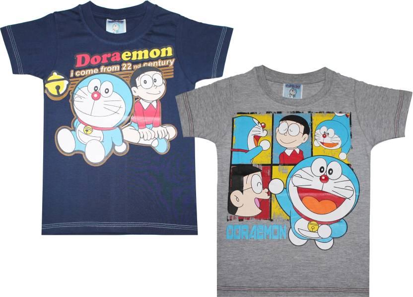 142b6b4d Doraemon Boys Graphic Print T Shirt Price in India - Buy Doraemon ...