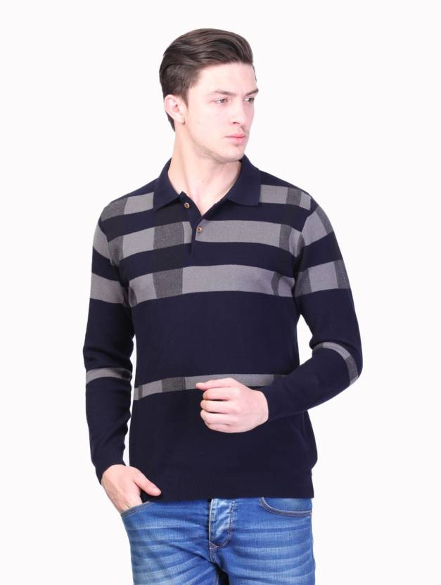 71be96b8 Kalt Self Design Men Polo Neck Blue T-Shirt - Buy Multicolor Kalt Self  Design Men Polo Neck Blue T-Shirt Online at Best Prices in India |  Flipkart.com