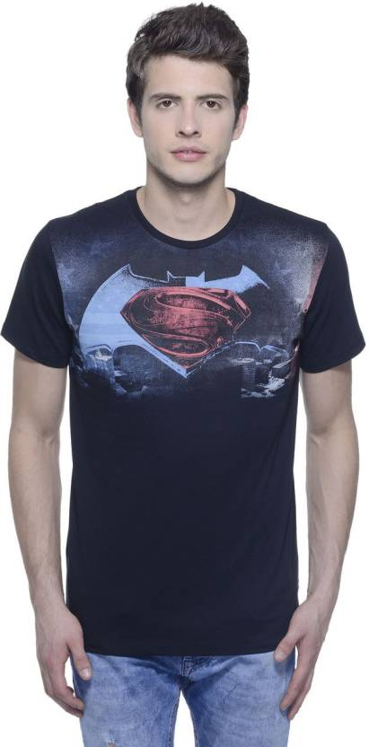 11984ee9fd7 Dawn of Justice Printed Men s Round Neck Black T-Shirt - Buy BLACK ...