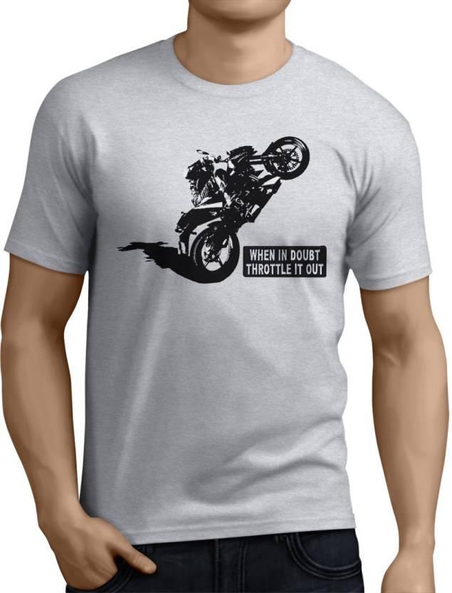 449658fdf23376 Llevarlo Printed Men's Round Neck Grey T-Shirt - Buy Grey Llevarlo Printed  Men's Round Neck Grey T-Shirt Online at Best Prices in India | Flipkart.com