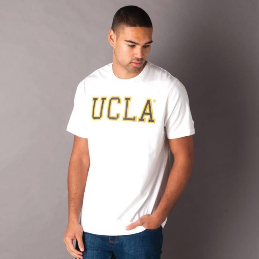 ef4d207638fc UCLA Solid Men's Polo Neck White T-Shirt - Buy White UCLA Solid Men's Polo  Neck White T-Shirt Online at Best Prices in India | Flipkart.com
