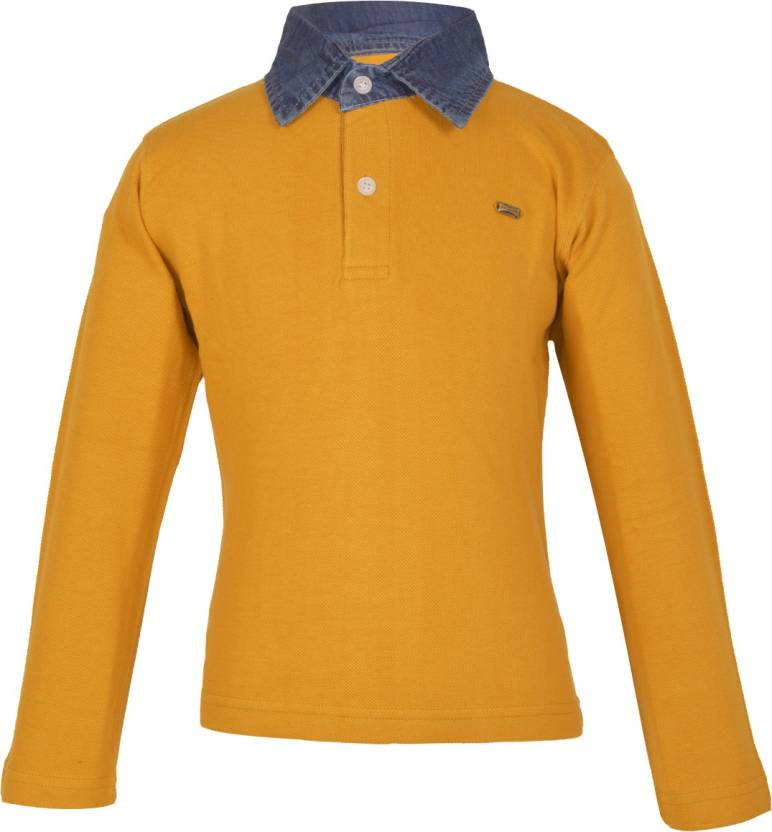 74d05775ae7c Gkidz Boys Solid Cotton T Shirt Price in India - Buy Gkidz Boys ...