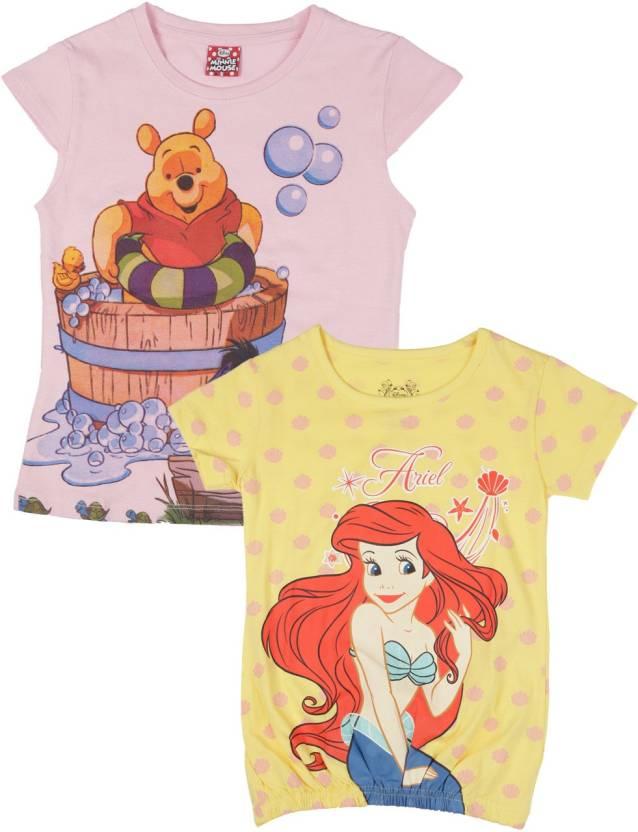 3236b613bda9 Disney Princess Girls T Shirt Price in India - Buy Disney Princess ...