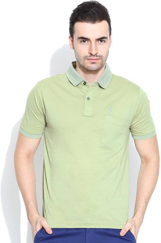 d32700e4 Duke Stardust Solid Men's Polo Neck Green T-Shirt - Buy L.Pista Duke  Stardust Solid Men's Polo Neck Green T-Shirt Online at Best Prices in India  | Flipkart. ...