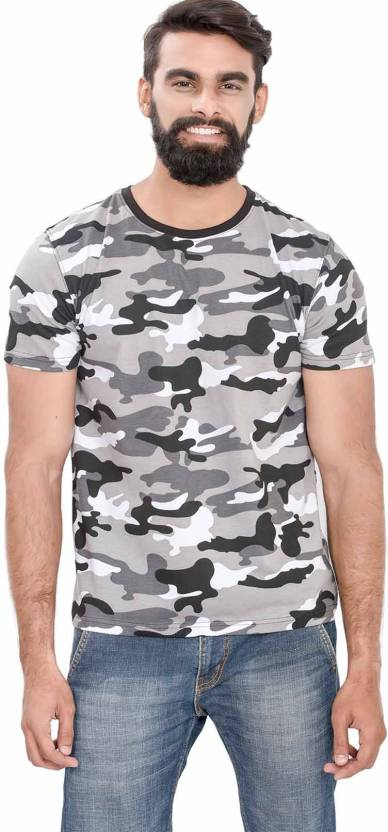 e7537c256d Wear Your Opinion Military Camouflage Men's Round Neck White T-Shirt - Buy  WhiteCamo Wear Your Opinion Military Camouflage Men's Round Neck White T- Shirt ...