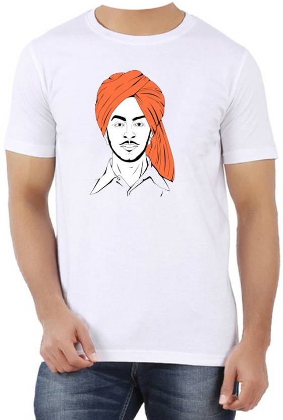 1587c35b1 ME&YOU Printed Men's Round Neck White T-Shirt - Buy White ME&YOU Printed  Men's Round Neck White T-Shirt Online at Best Prices in India | Flipkart.com