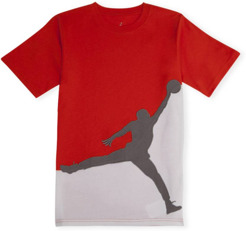 fa78caf623b Jordan Boys Graphic Print T Shirt Price in India - Buy Jordan Boys ...