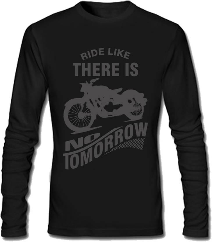 Sayitloud Printed Men's Round Neck Black T-Shirt