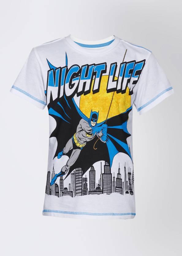 2cb474040a Batman Boys Printed T Shirt Price in India - Buy Batman Boys Printed ...