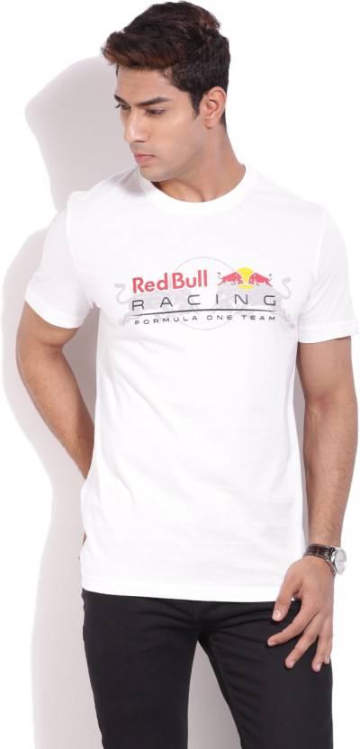 68ffff85338 Puma Printed Men's Round Neck White T-Shirt - Buy white Puma Printed ...
