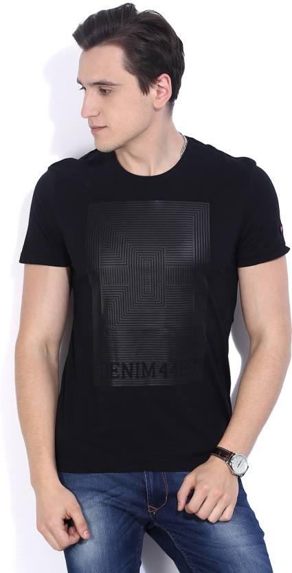 b6117d8f Being Human Printed Men's Round Neck Black T-Shirt - Buy BLACK Being Human  Printed Men's Round Neck Black T-Shirt Online at Best Prices in India |  Flipkart. ...