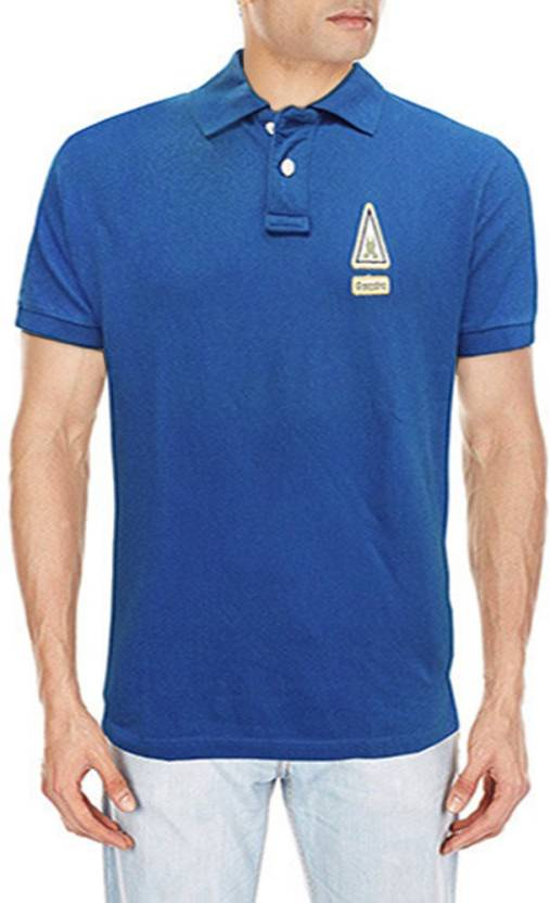 Polo Neck Shirt Gaastra Men's Buy T Solid Blue wlZTkXPiOu