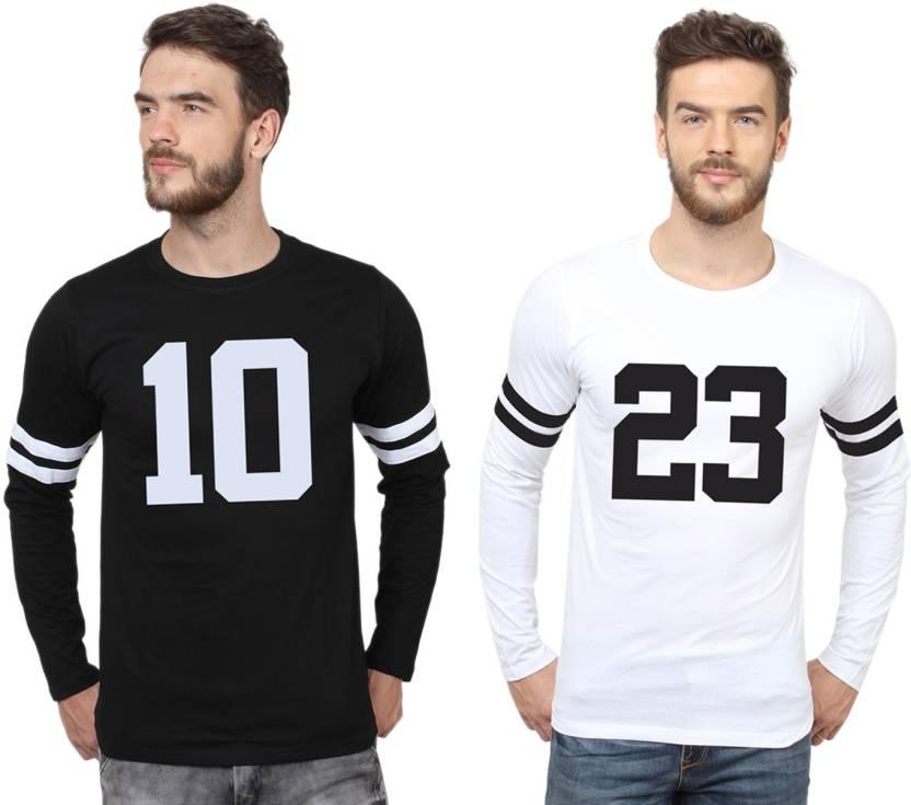 06a372af0a99 SayItLoud Printed Men's Round Neck Black, White T-Shirt - Buy Black ...
