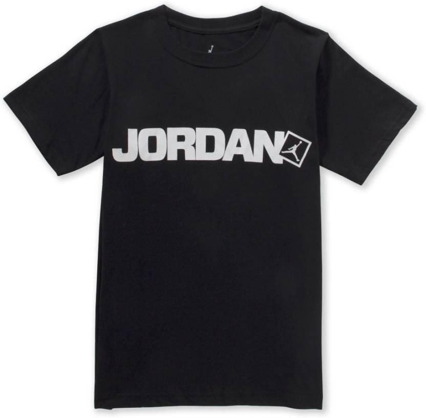 56b286a2e64dd1 Jordan Boys Graphic Print T Shirt Price in India - Buy Jordan Boys ...