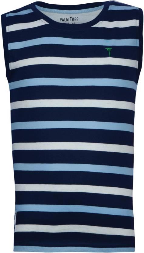 Gini & Jony Boys Striped T Shirt
